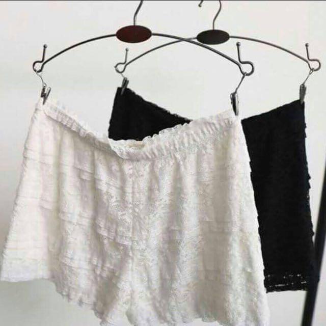 細緻蕾絲褲
