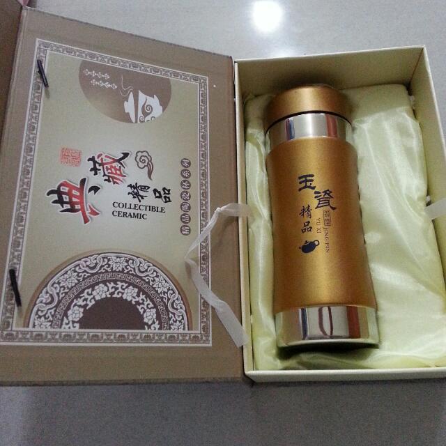 [全新]精品陶瓷杯保溫瓶