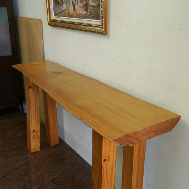 檜木實木桌