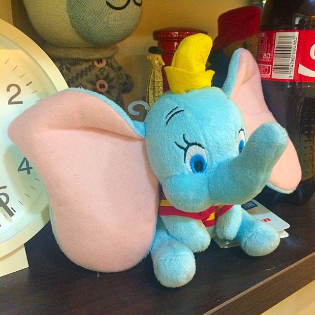 迪士尼小飛象玩偶娃娃(保留)
