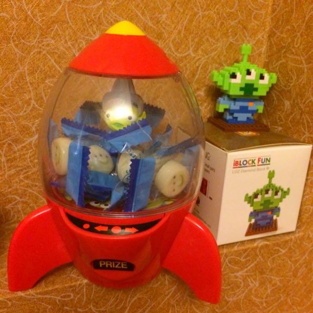 東京迪士尼🇯🇵三眼怪火箭糖果罐🚀🚀🚀