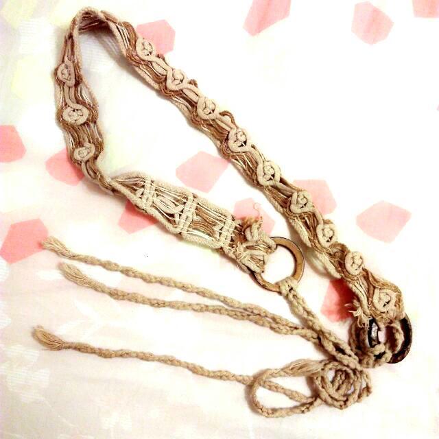麻繩腰帶(含運)