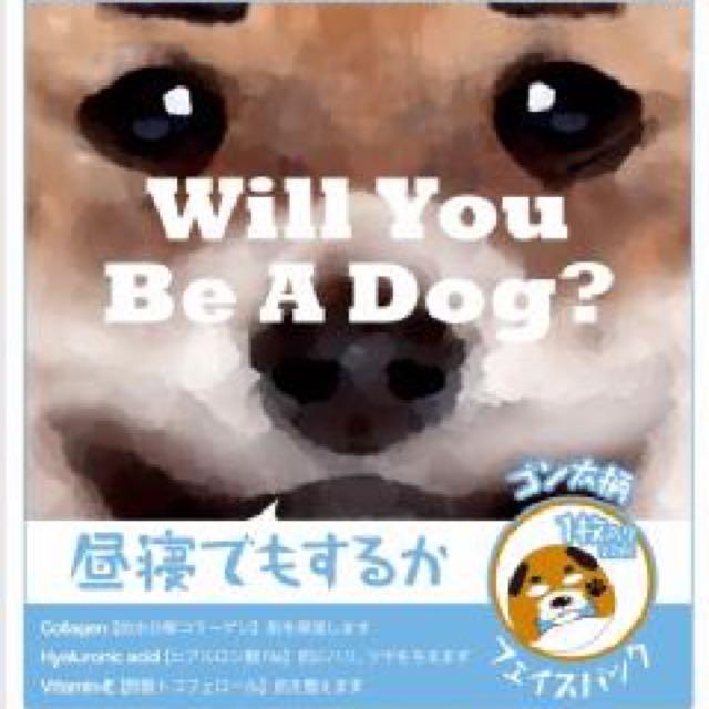 日本可愛狗狗面膜