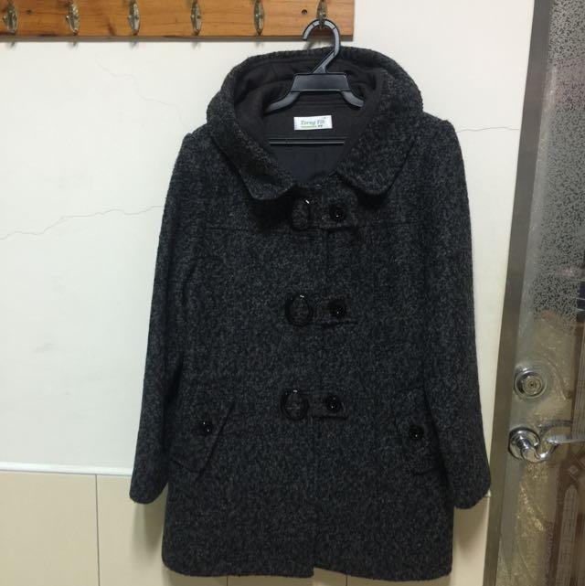 中大尺碼保暖小大衣