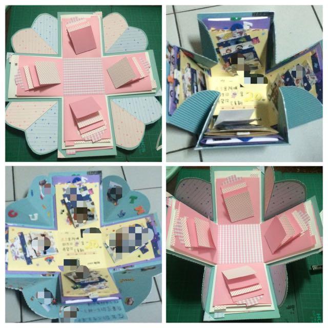 手工卡片禮物盒