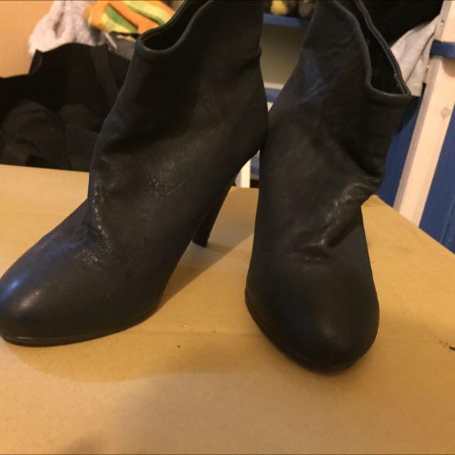 正韓 踝靴