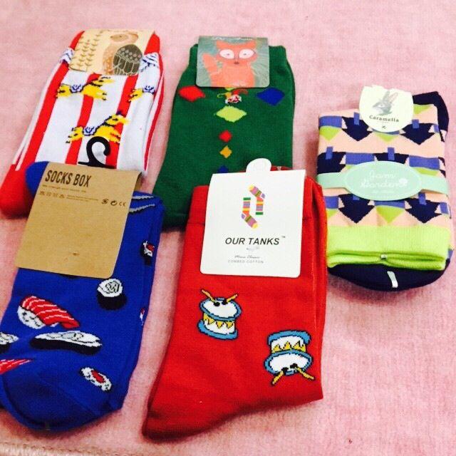 ✨酷炫造型襪 中統襪