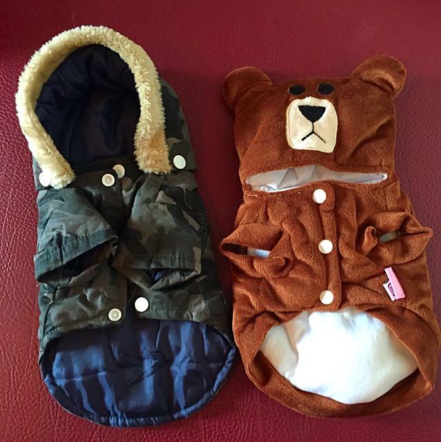 超級可愛 小熊+迷彩 寵物帽T