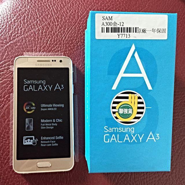 全新 Samsung GALAXY A3 手機