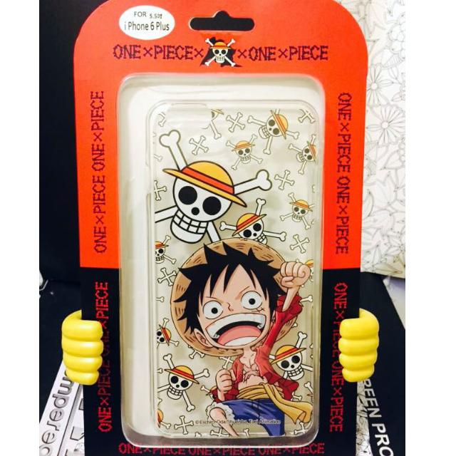 APPLE iPhone 6 Plus 5.5吋 海賊王 ONE PIECE 正版授權 透明彩繪軟式手機殼