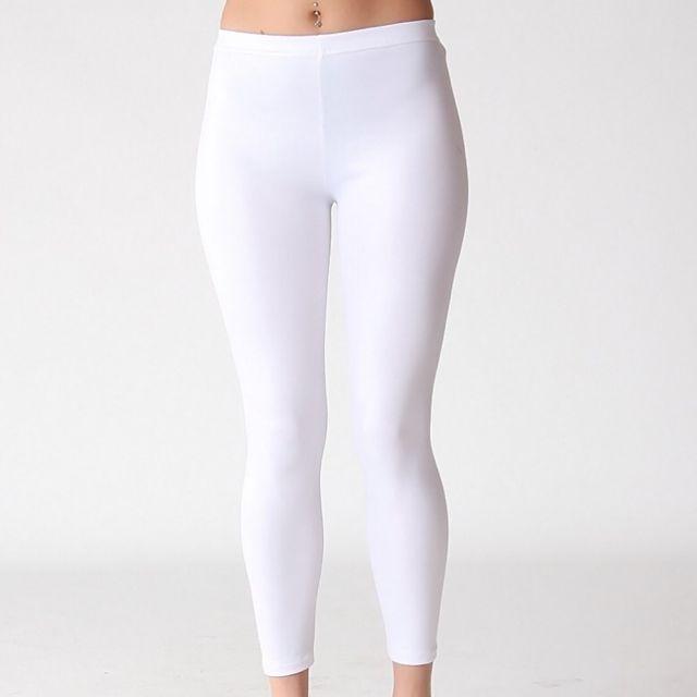 Cotton On White Leggings Women S Fashion On Carousell