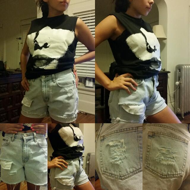 Customized shorts