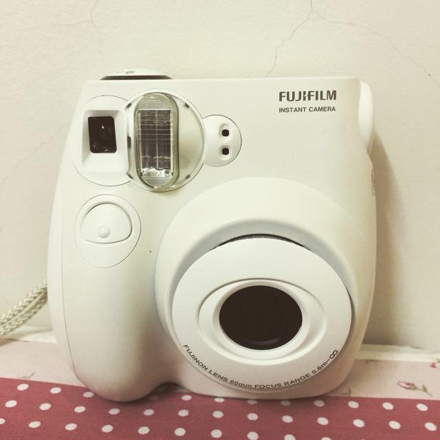 Fujifilm 拍立得Mini 7s小白機(二手)