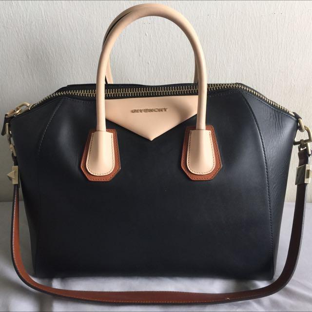 dcf5ed083b Reserved] Givenchy Antigona Medium color Trio Color, Luxury on Carousell