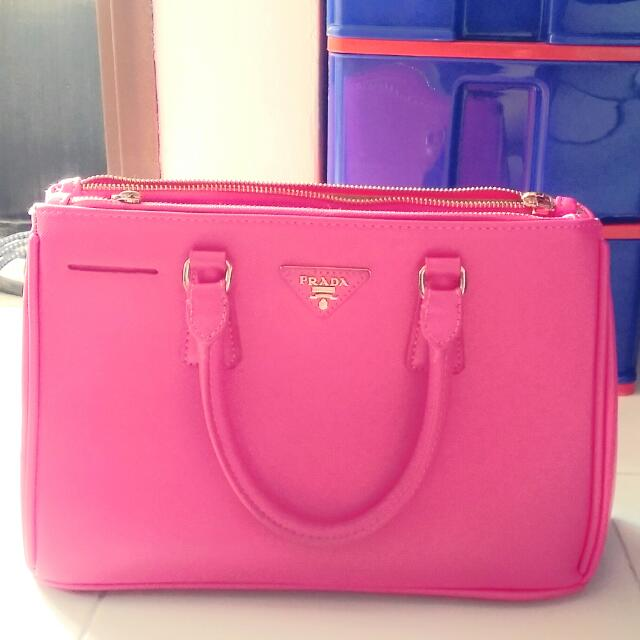 886d183b3db5 ... where to buy inspired pink prada bag womens fashion on carousell 36bce  15c37