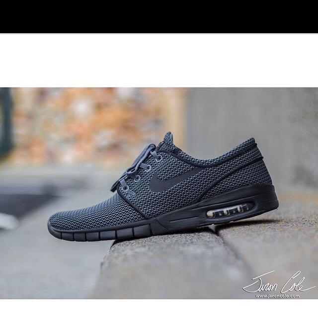 Nike Stefan Janoski Max-Dark Grey/black