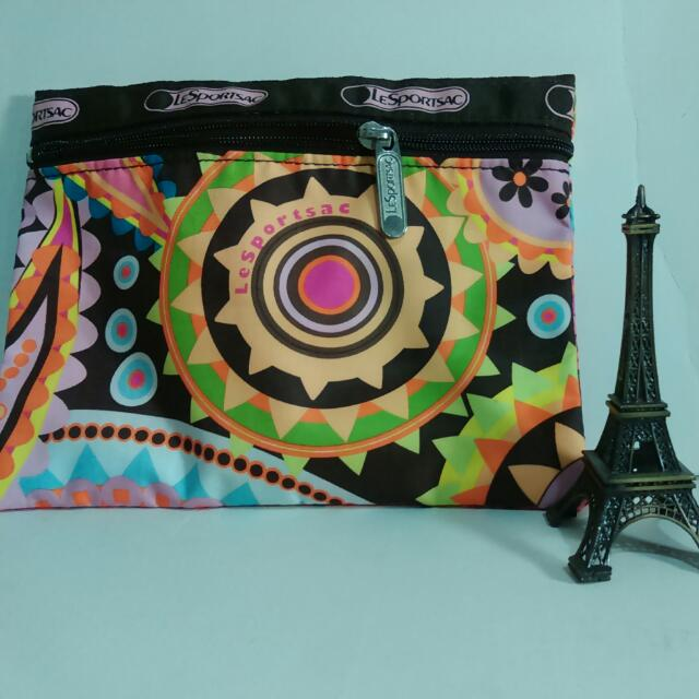 Le Spietsac幾何圖形化妝包