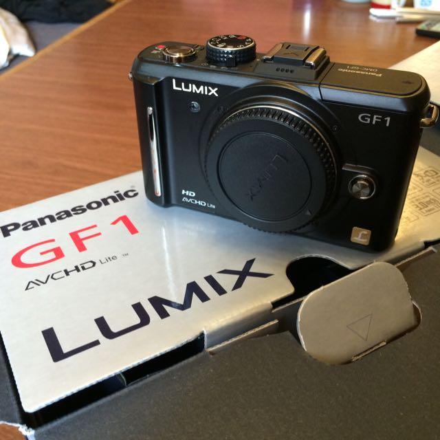 Panasonic GF1 我的女友ㄧ號 日本原裝進口 單機身