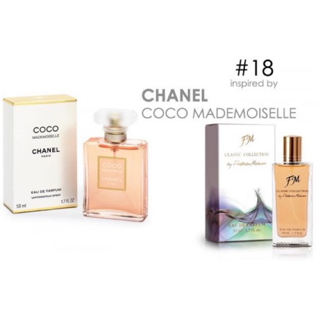 Parfum Fm 18 Chanel Coco Mademoisle Womens Fashion On Carousell