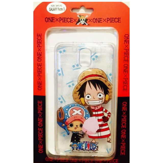 Samsung Galaxy Note 3 海賊王 魯夫&喬巴 正版授權 軟膠透明殼 彩繪手機殼 保護殼 手機套 保護套