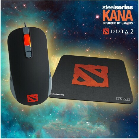 Steelseries kana Dota2 mouse set(with CDK of Genuine kantusa the script  sword)
