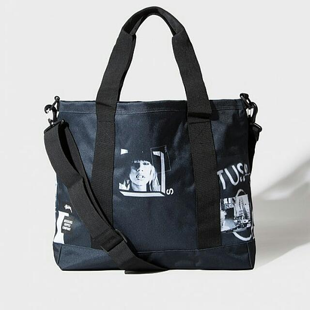 41bc74aecba Stussy X Herschel Supply Co Placement Print Tote Bag, Men s Fashion ...
