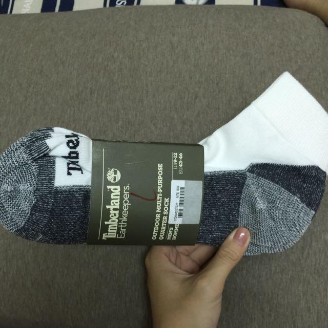 Timberland X Earthkeepers 男用襪子 藍底白