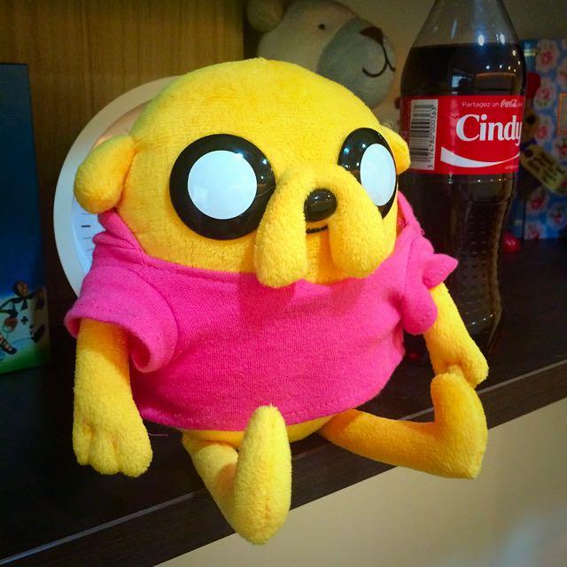 探險活寶/老皮穿粉紅tshirt玩偶娃娃