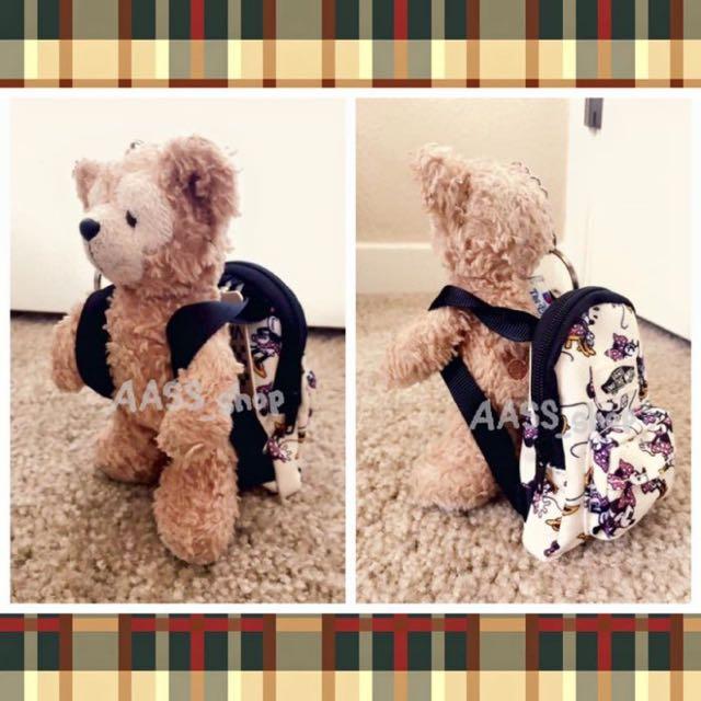 免運✨美國代購✨VANS X Disney 迪士尼聯名品牌 米妮後背包迷你吊飾