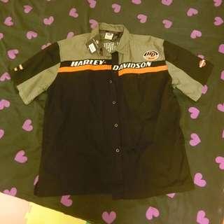 全新正版Harley-Davidson襯衫