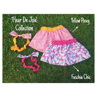 Reversible Gathered Skirt For Toddlers