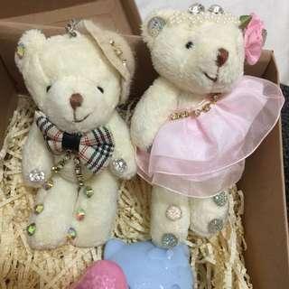情侶熊禮盒(新品)