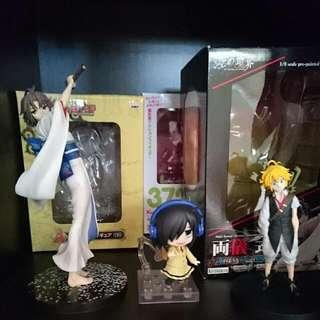 Anime Figures For Sale!!