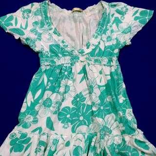 夏日小洋裝(八、九成新)