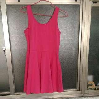 保留中--二手短版小洋裝(50含運)