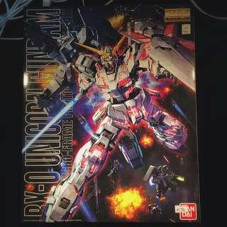 Gundam Unicorn RX-0 MG (Bandai)