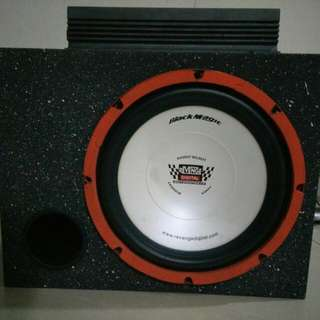 Woofer with amp