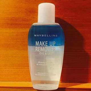 (保留)Maybelline眼唇卸妝液