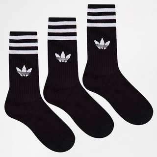 Adidas Originals Solid Crew Socks Withe