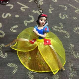 迪士尼公主鑰匙圈