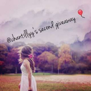 Chantillyy's 2nd Giveaway!