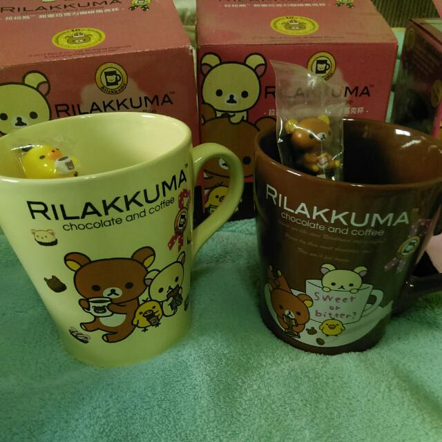 7-11集點拉拉熊🍬甜蜜巧克力咖啡馬克杯