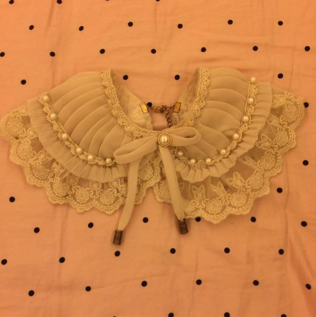 復古蕾絲頸部飾品