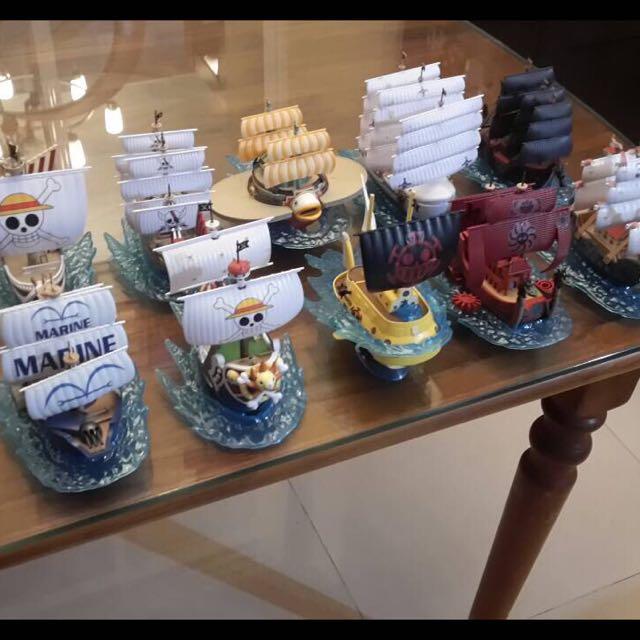 海賊王系列海賊船-偉大的船艦