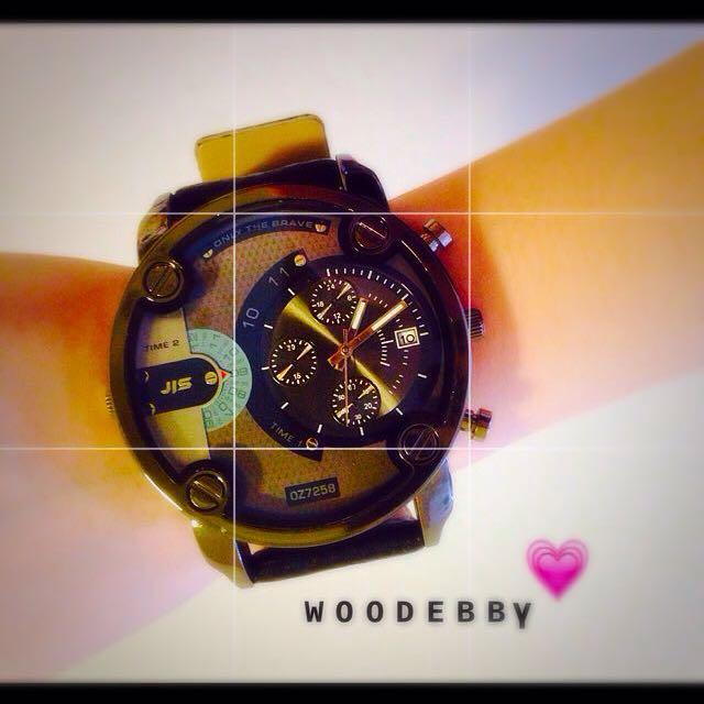 👉全新韓國帥氣超大錶盤手錶😎