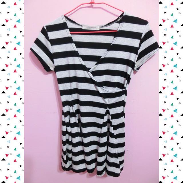 ✨條紋小洋裝✨