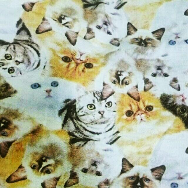 貓咪滿版短洋裝