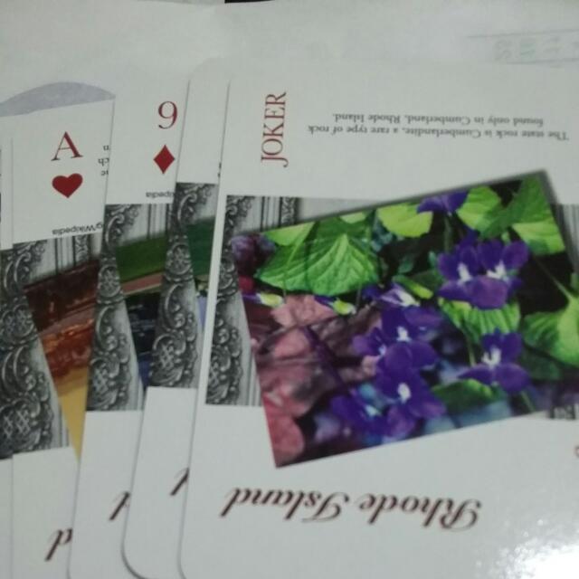 撲克牌(羅德島)