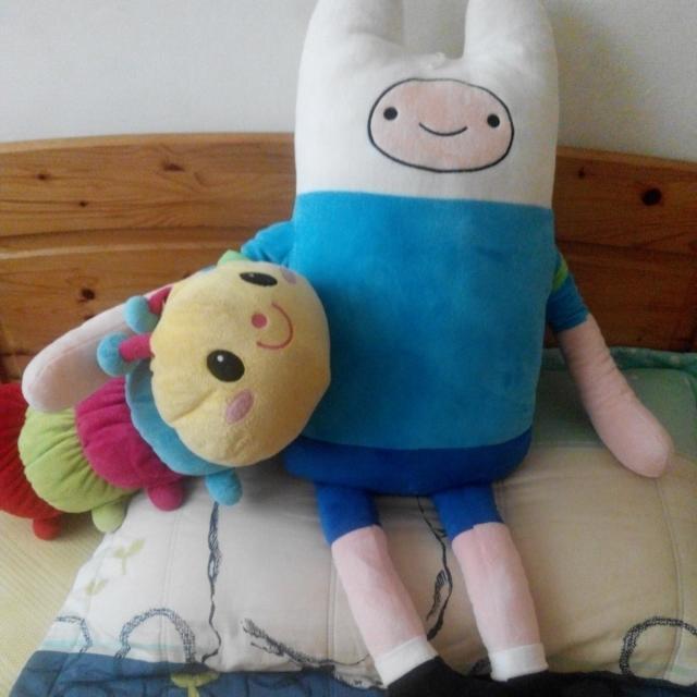 【贈送】正版 探險活寶阿寶全身大玩偶