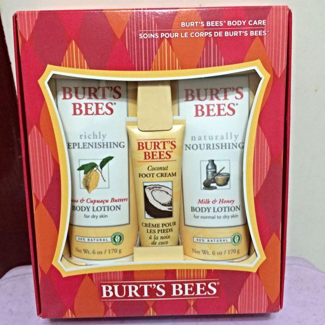 BURT'S BEES 身體乳液+護腳霜